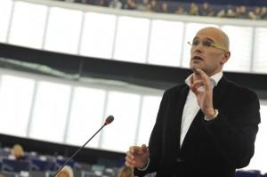 Raul Romeva interviene en el Parlamento Europeo (diciembre 2010)