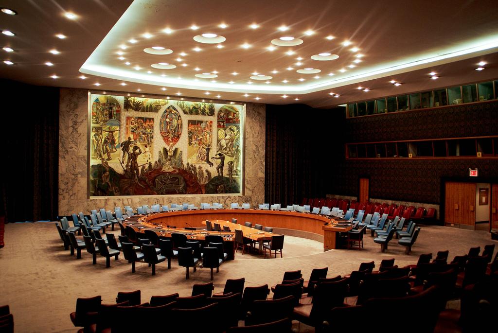 Consejo de Seguridad de la ONU: raro ejemplo de arquitectura circular